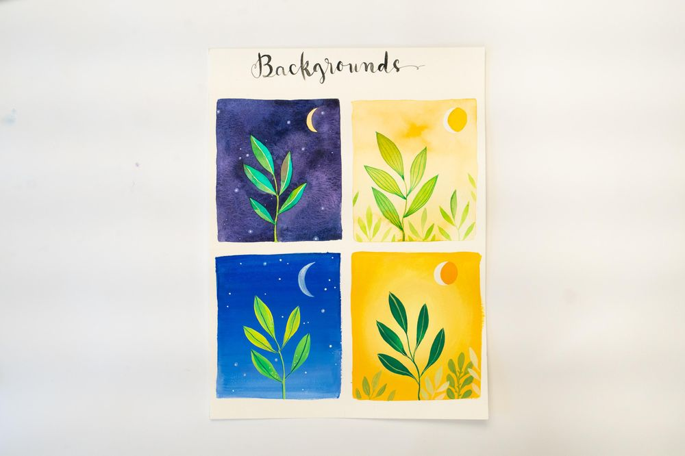 Sample Project: Watercolor + Gouache + Acrylic - image 5 - student project