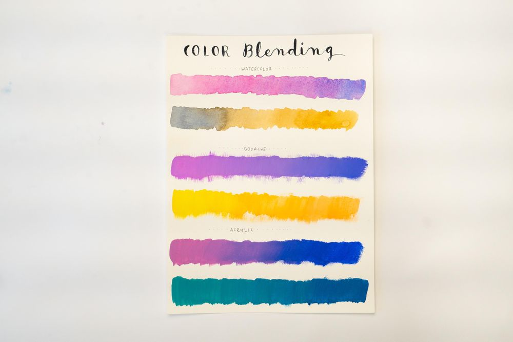 Sample Project: Watercolor + Gouache + Acrylic - image 2 - student project
