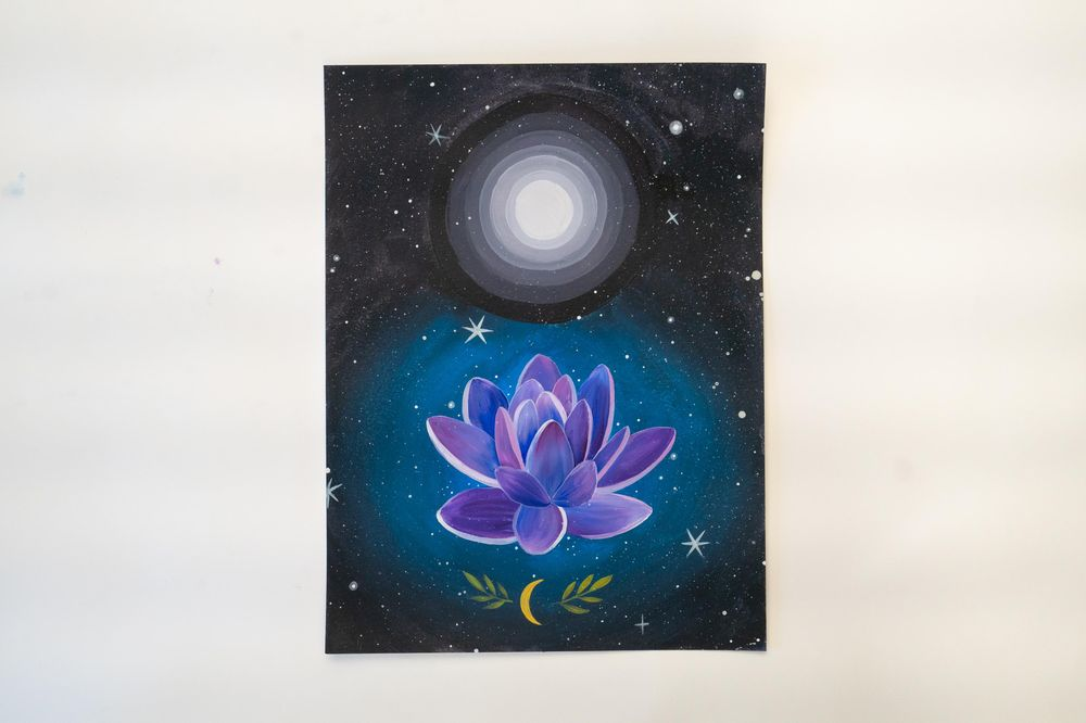 Sample Project: Watercolor + Gouache + Acrylic - image 8 - student project