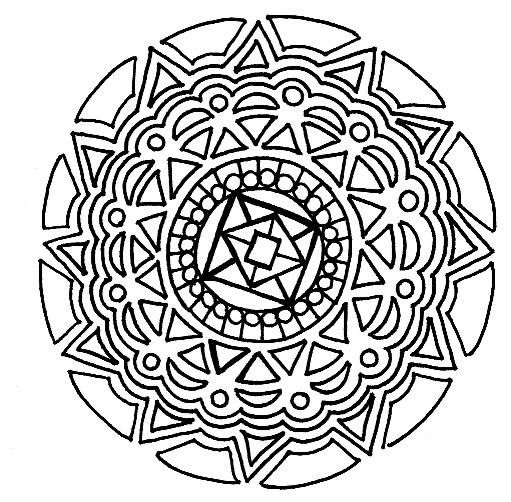 Random Mandalas - image 2 - student project
