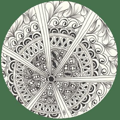 Random Mandalas - image 7 - student project