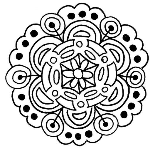 Random Mandalas - image 1 - student project