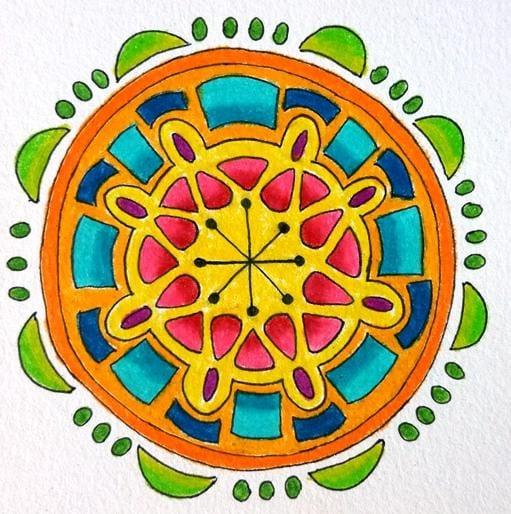 Random Mandalas - image 6 - student project