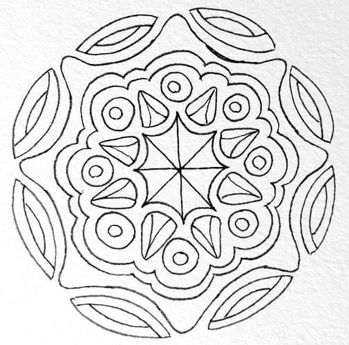 Random Mandalas - image 3 - student project