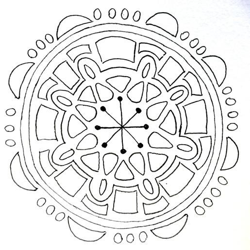 Random Mandalas - image 5 - student project