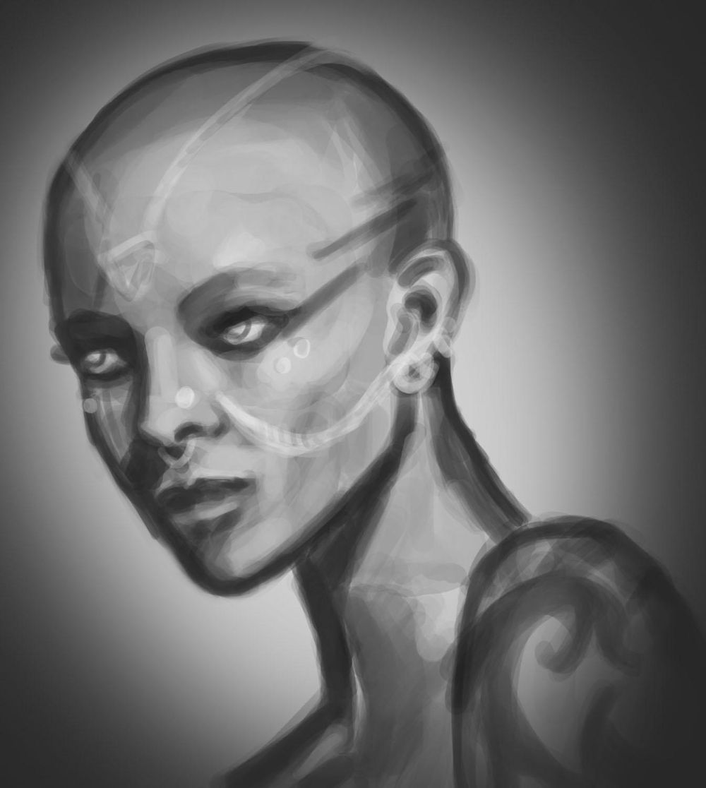 Portrait Painting - image 3 - student project