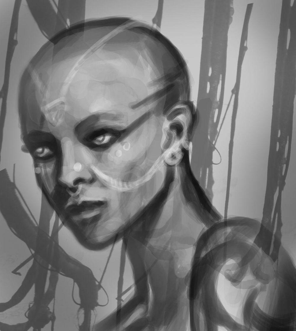 Portrait Painting - image 5 - student project