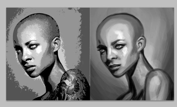 Portrait Painting - image 8 - student project