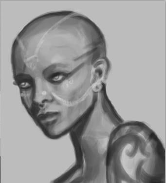 Portrait Painting - image 2 - student project