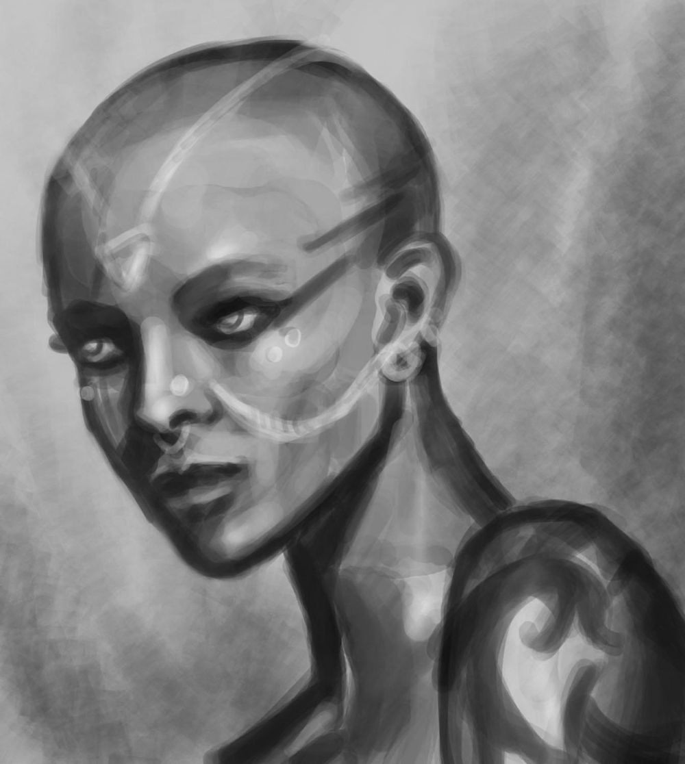 Portrait Painting - image 4 - student project