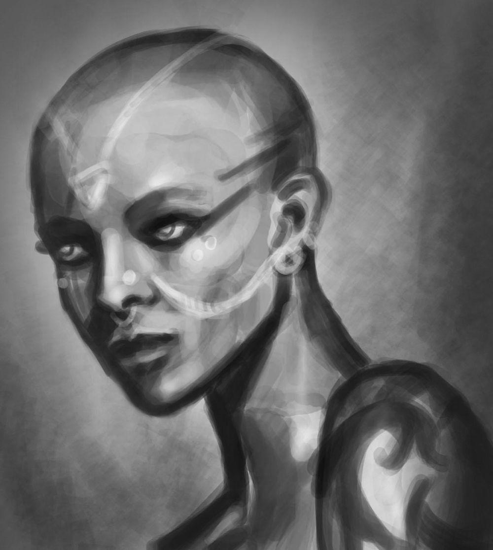 Portrait Painting - image 6 - student project