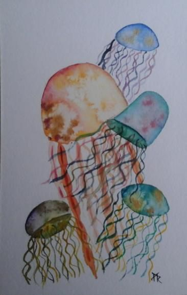 Modern Beginning watercolor Techniques... - image 3 - student project