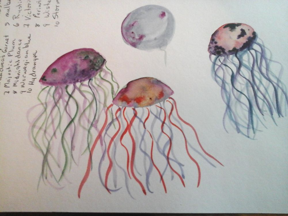 Modern Beginning watercolor Techniques... - image 5 - student project