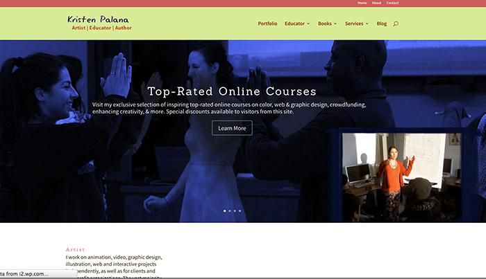 Sample Project: My Online Portfolio and Filmfreeway Filmmaker Page - image 1 - student project