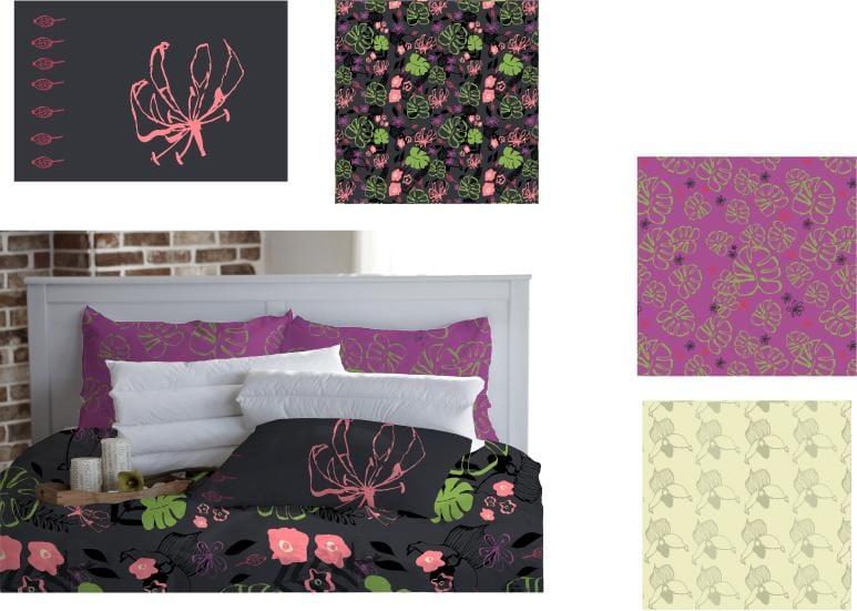 Jungle pattern - image 1 - student project