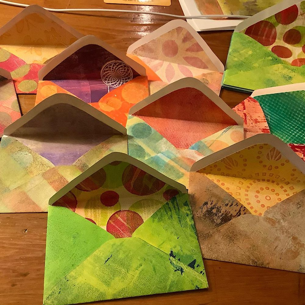 Lucie's Little Envelopes class ... so much fun! - image 1 - student project
