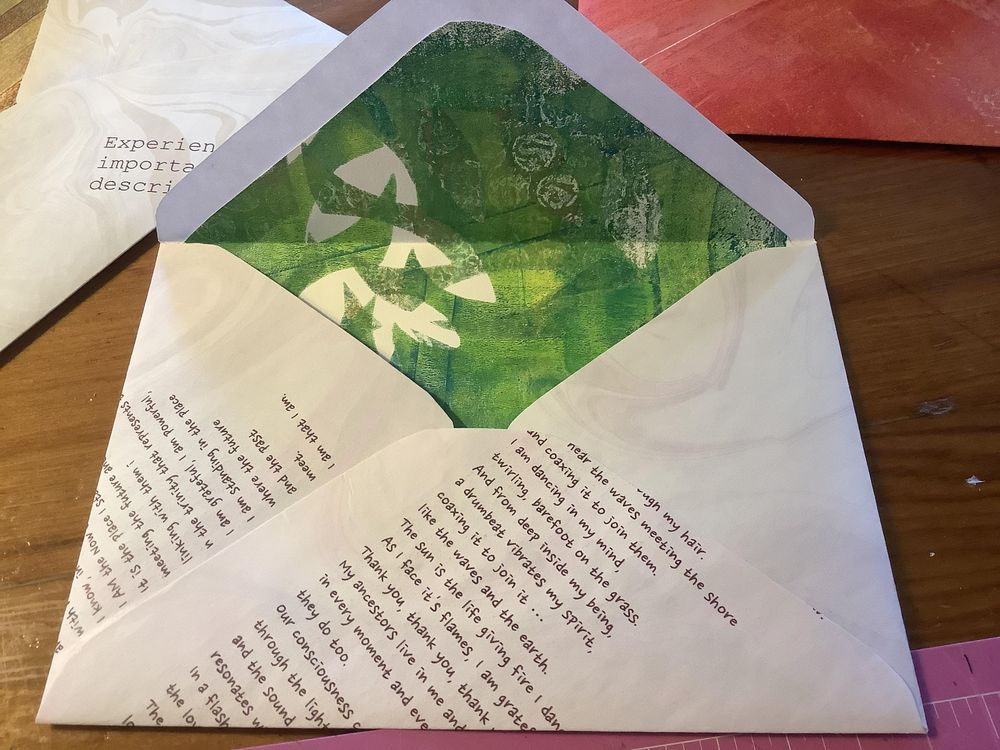Lucie's Little Envelopes class ... so much fun! - image 3 - student project