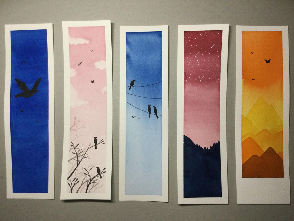 Bookmarks and polaroids - image 1 - student project