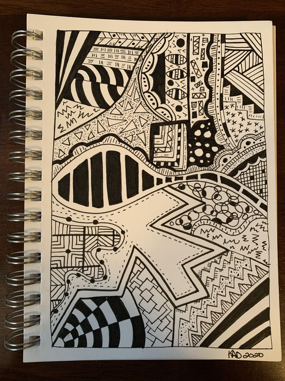 Doodling - image 1 - student project