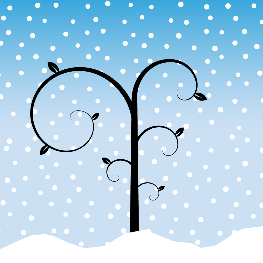 Whimsical Winter Tree - image 1 - student project