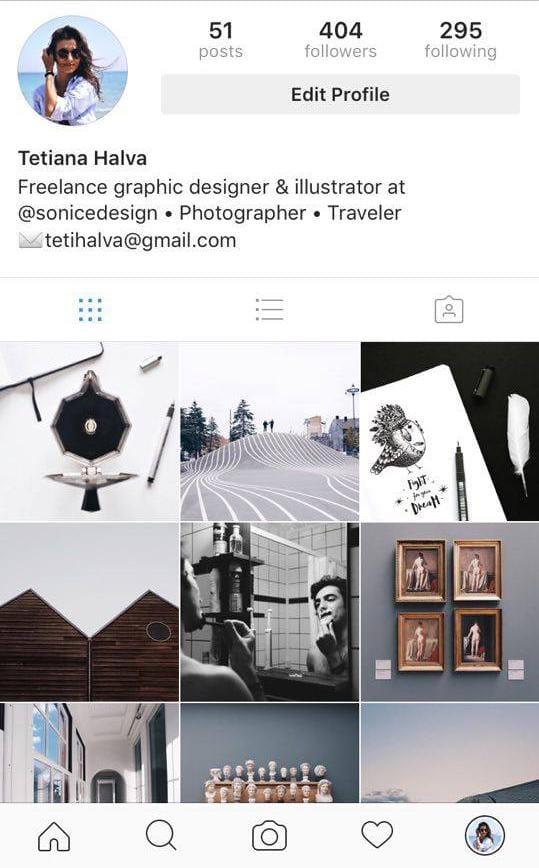 Graphic designer/Illustrator/Photographer @tetihalva - image 1 - student project
