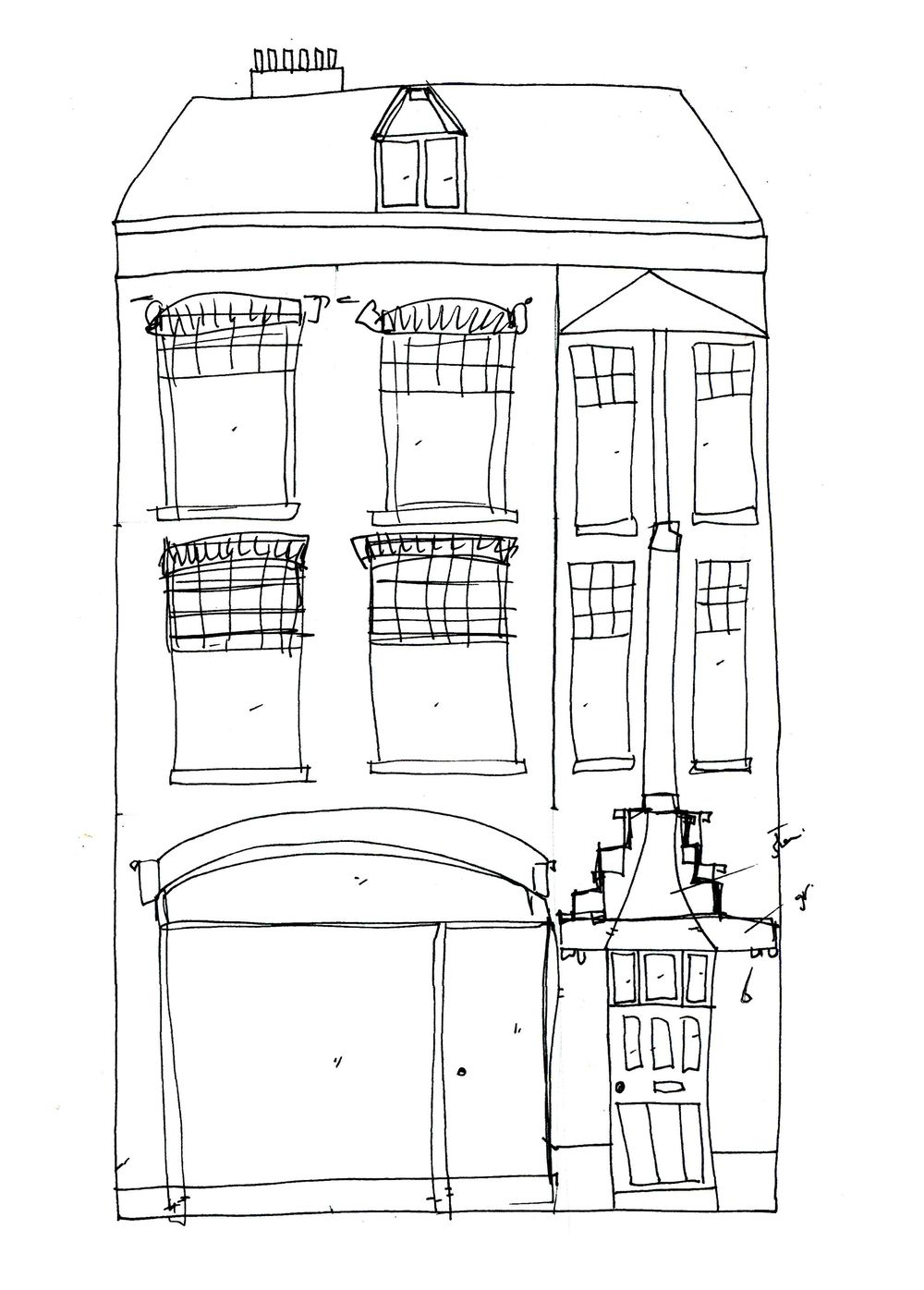 House in Amsterdam - image 1 - student project