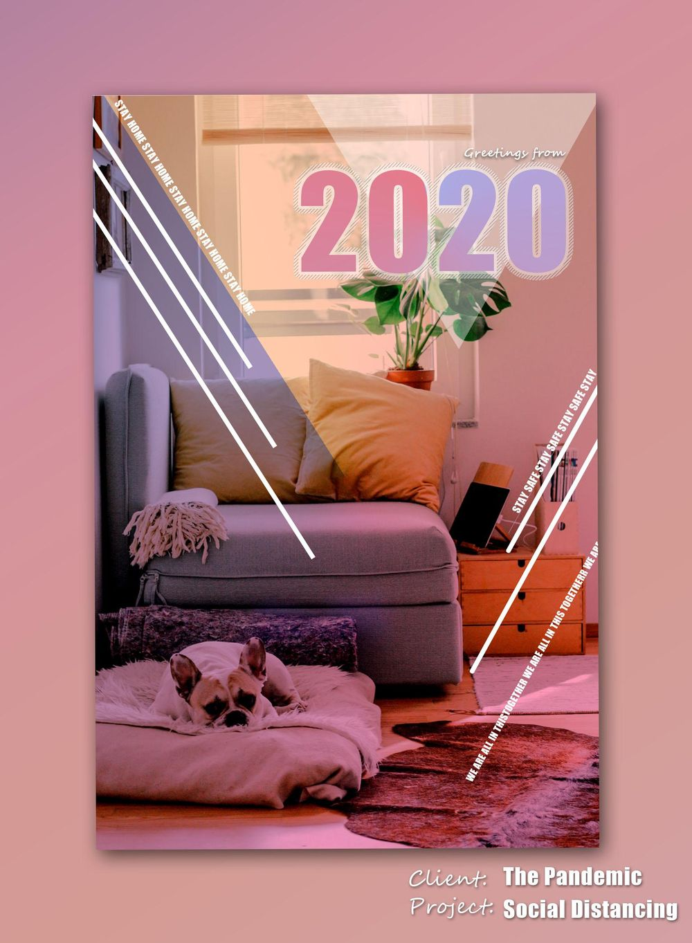 2020 Postcard - image 1 - student project
