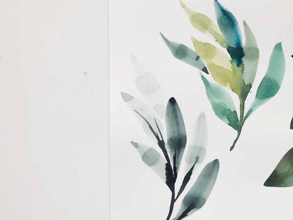 Watercolor Exploration - image 5 - student project