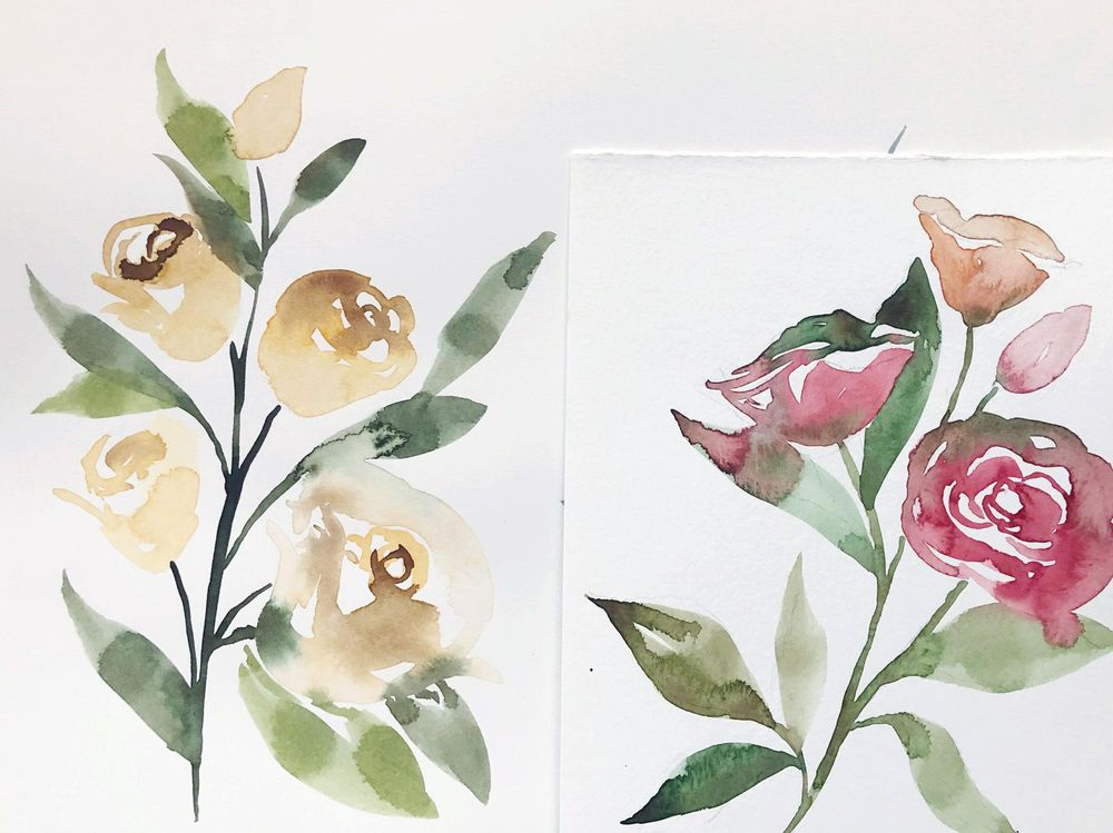 Watercolor Exploration - image 3 - student project