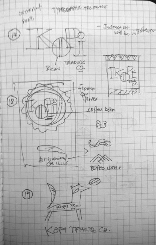 Logo for Kopi Co. - image 9 - student project