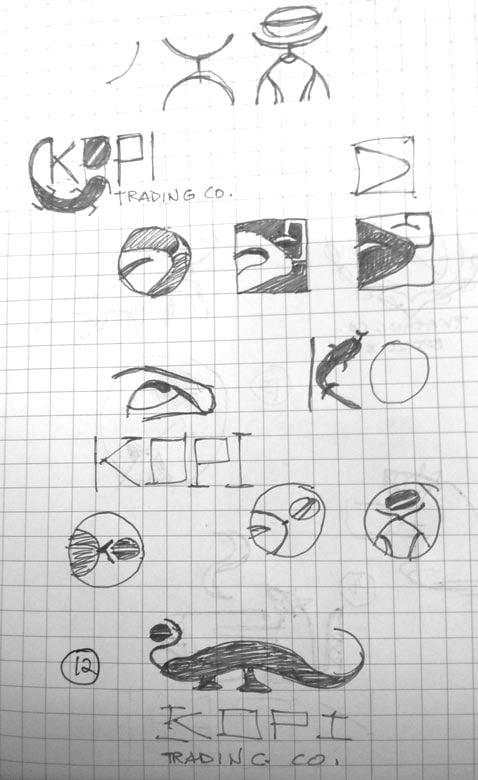 Logo for Kopi Co. - image 7 - student project
