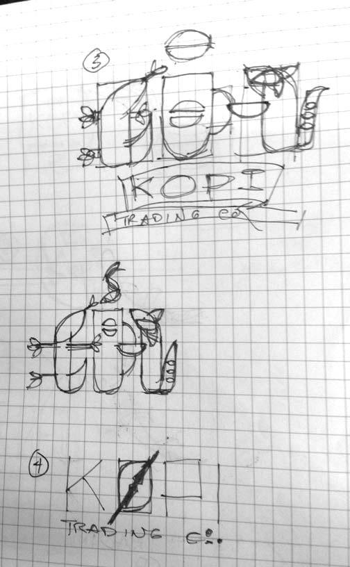 Logo for Kopi Co. - image 2 - student project
