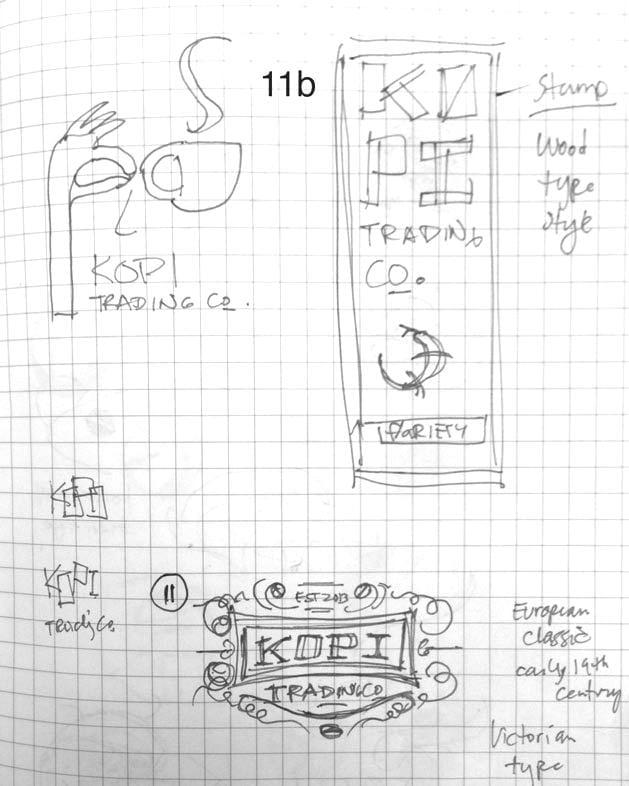 Logo for Kopi Co. - image 6 - student project