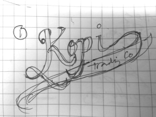Logo for Kopi Co. - image 1 - student project