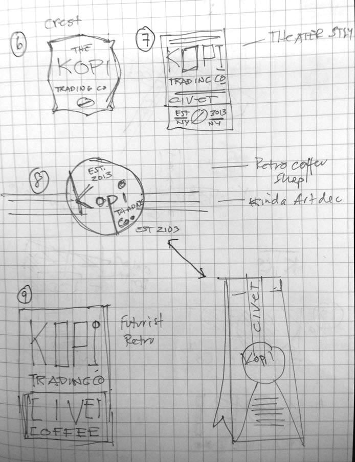 Logo for Kopi Co. - image 4 - student project