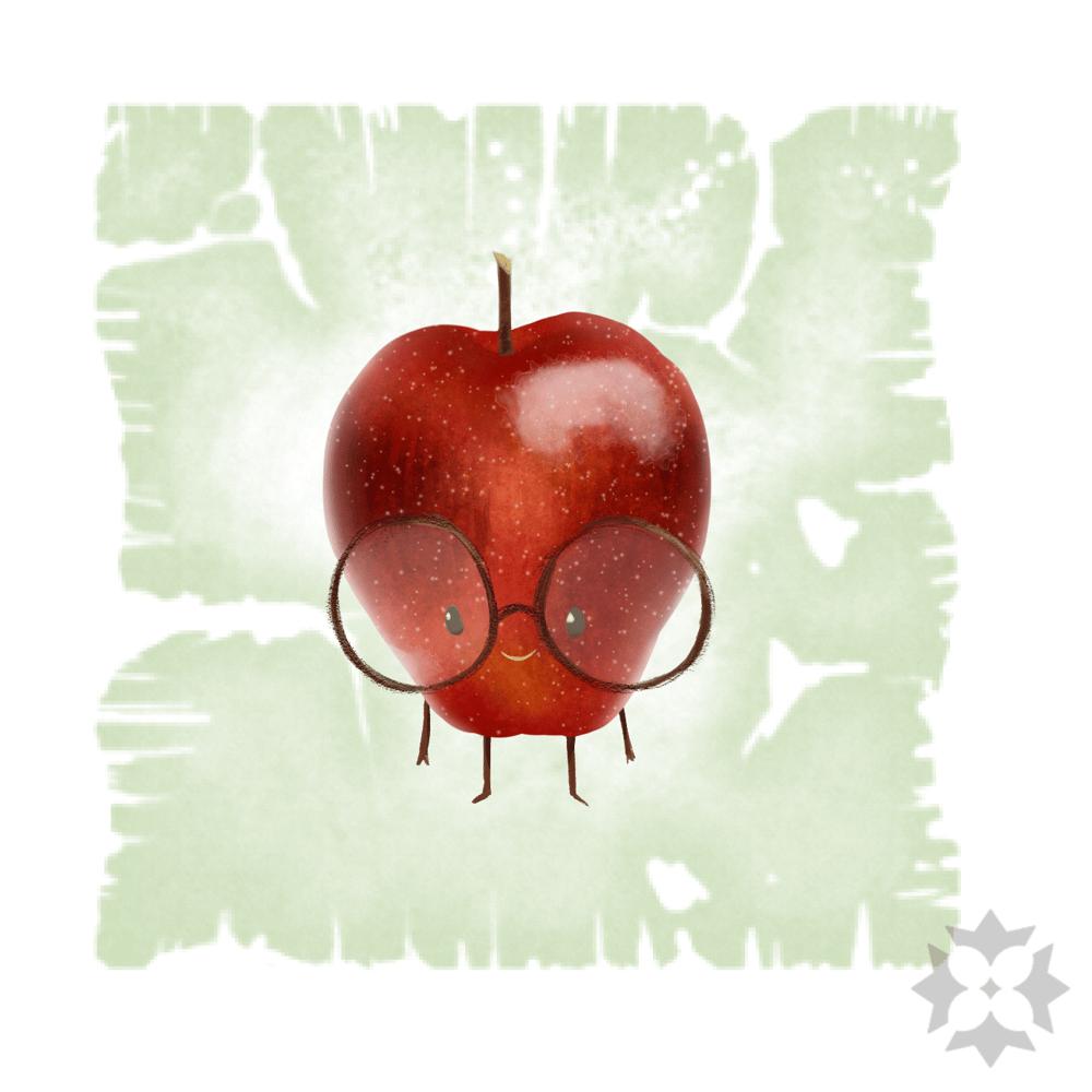 Tiny Nerdy Apple - image 2 - student project
