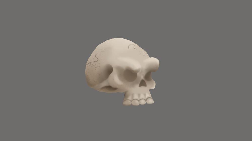 Tree & skull - image 1 - student project