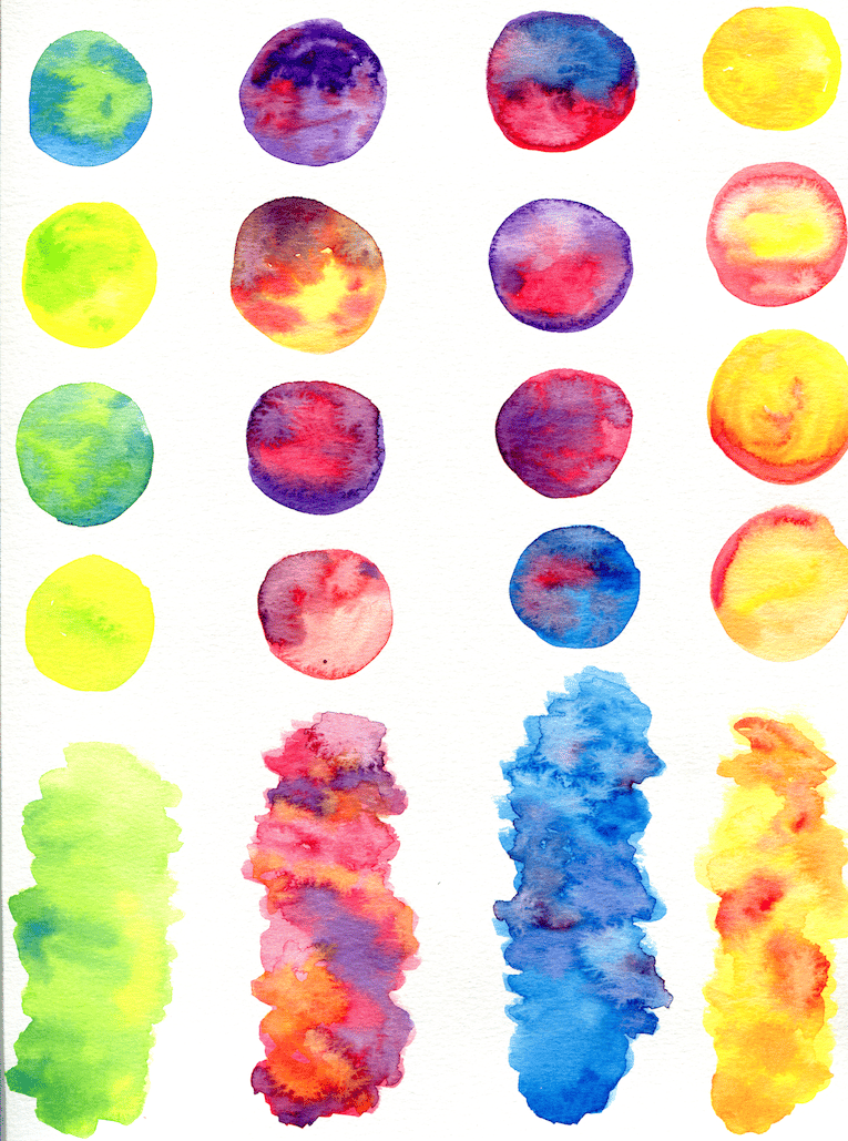 Watercolor Textures for Graphic Design - image 2 - student project