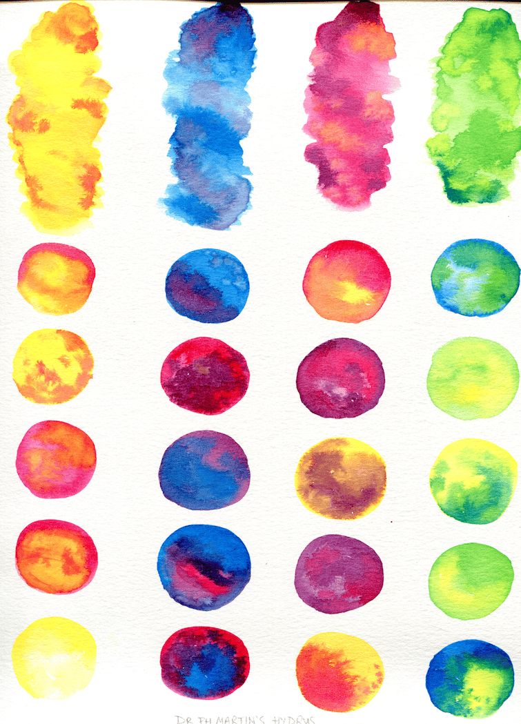 Watercolor Textures for Graphic Design - image 1 - student project