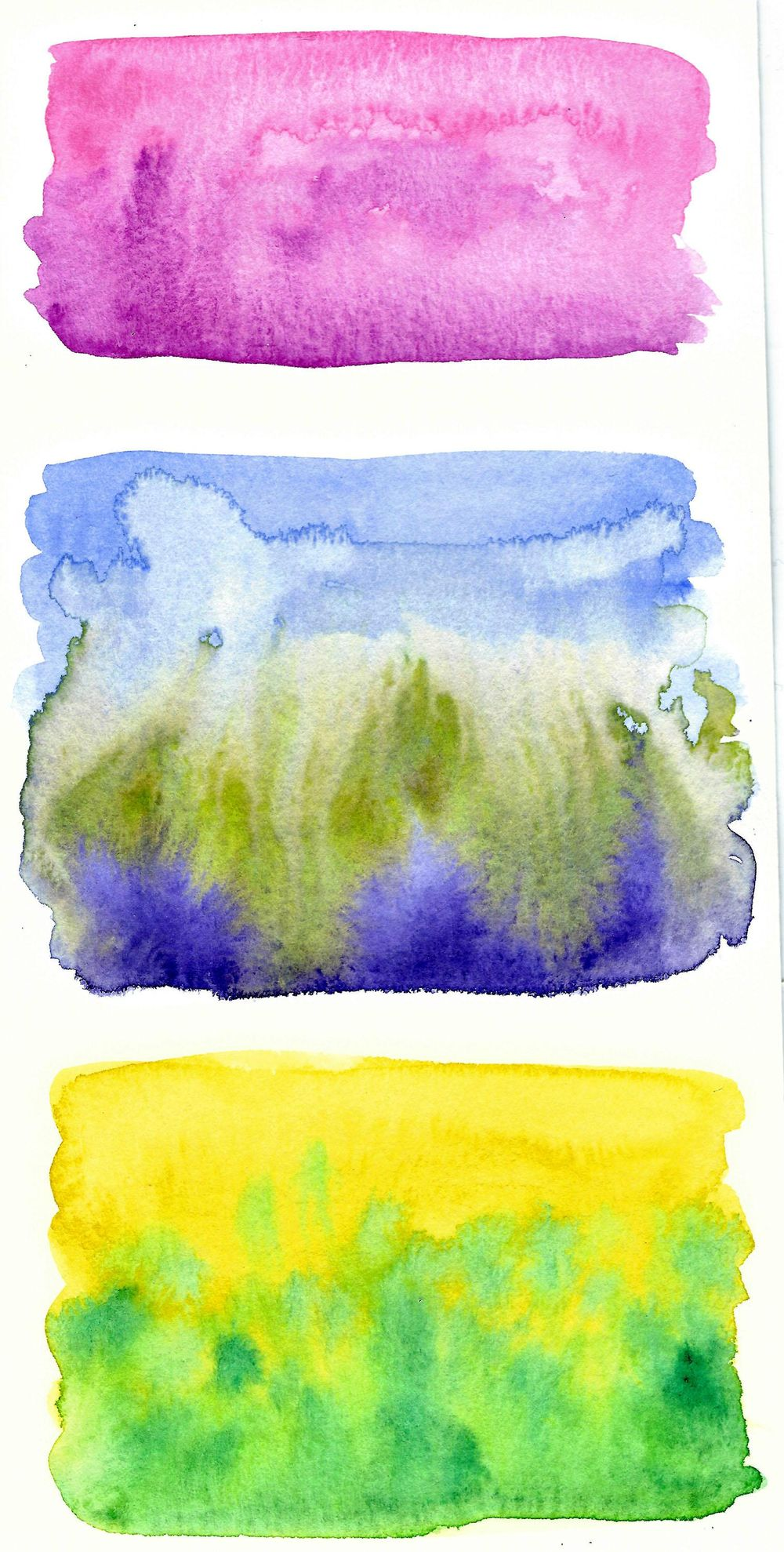 Beautiful Watercolor Texture - image 2 - student project