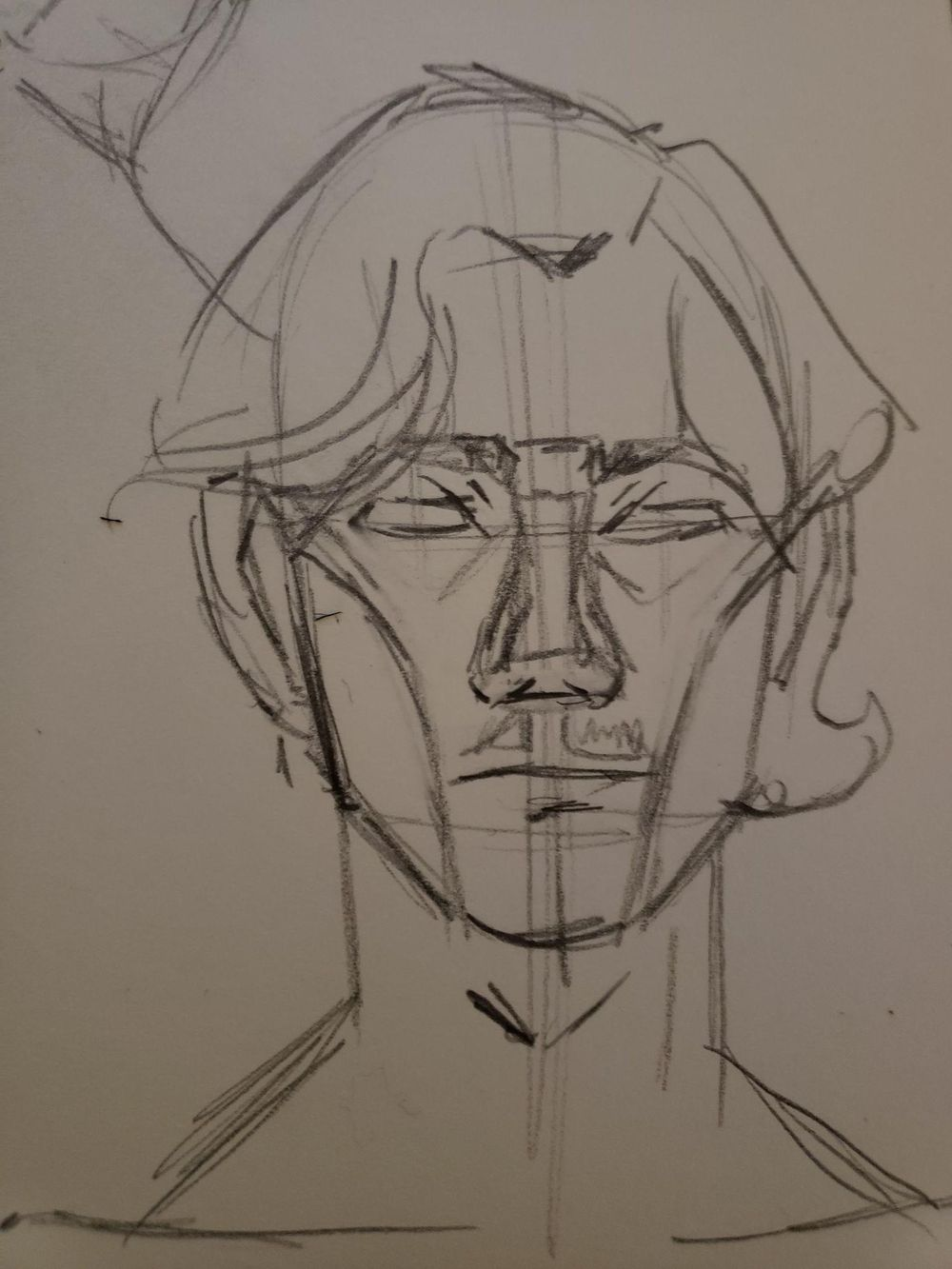 Face drawing - image 1 - student project