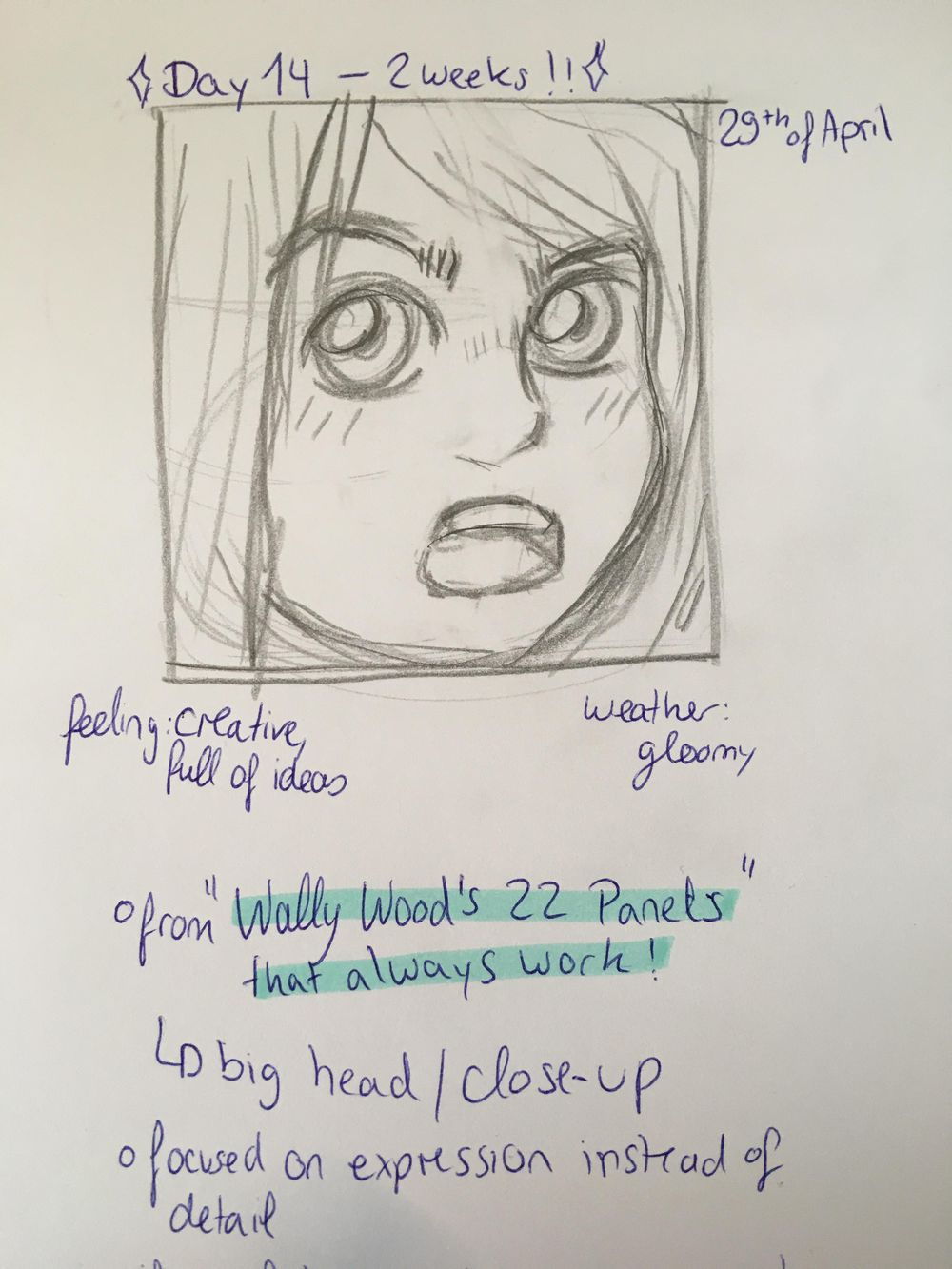 #100DaysofPanels - image 6 - student project