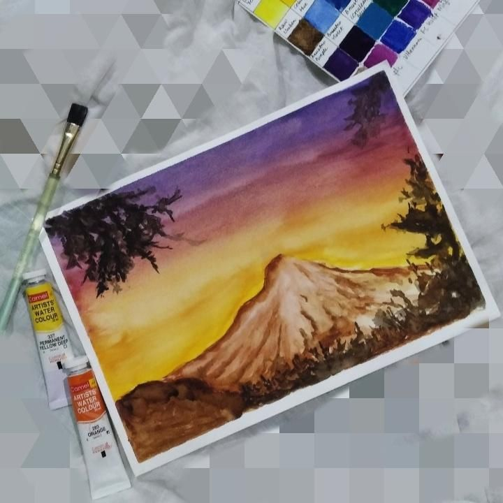 Mountain - image 1 - student project