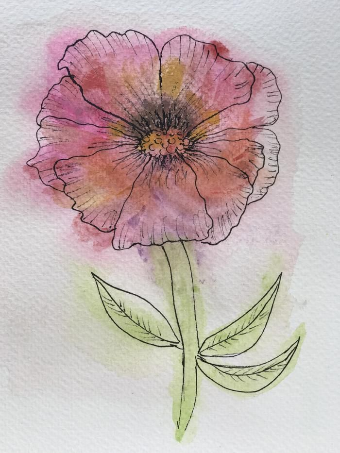 Watercolor - image 3 - student project