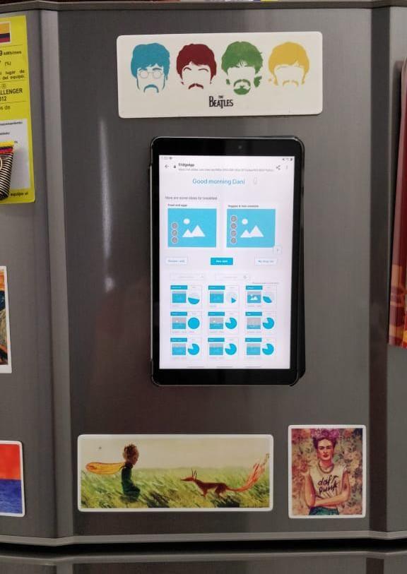 Fridge App Prototype - image 5 - student project