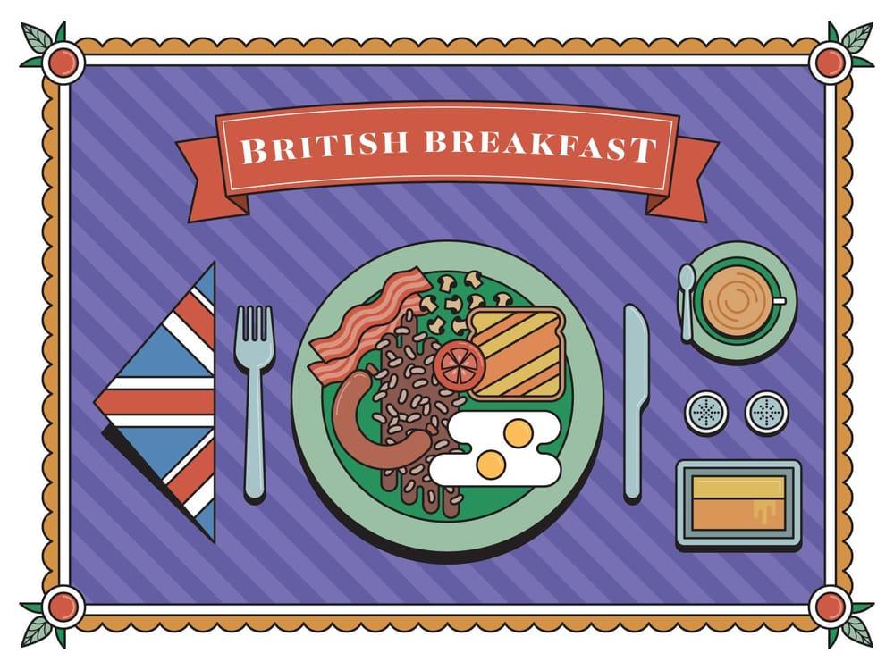 British Breakfast - image 2 - student project