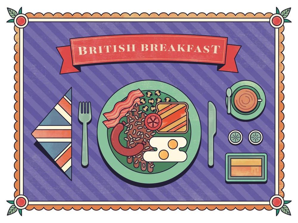 British Breakfast - image 3 - student project