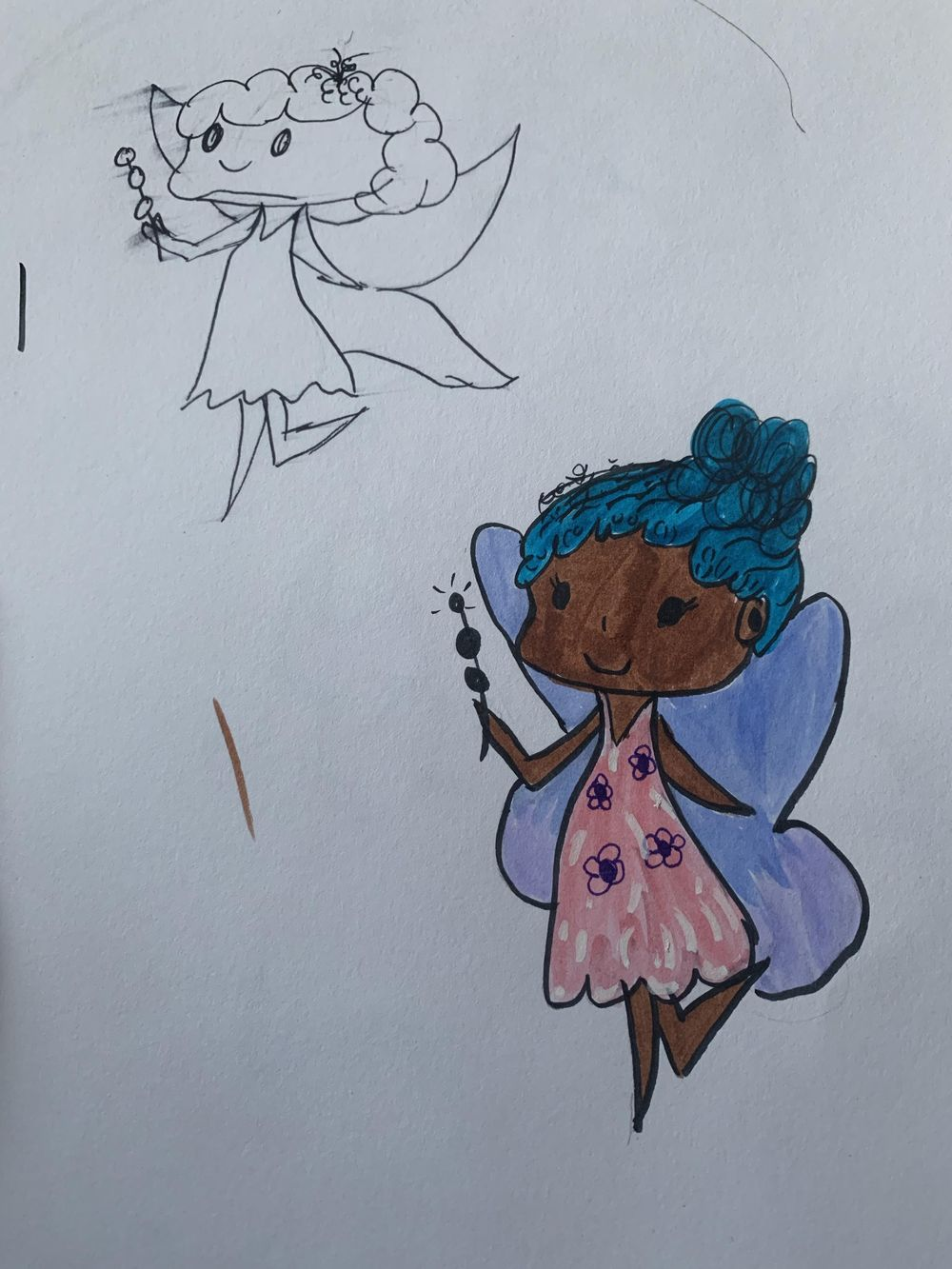 Fairy 1st and 2nd Attempt - image 1 - student project