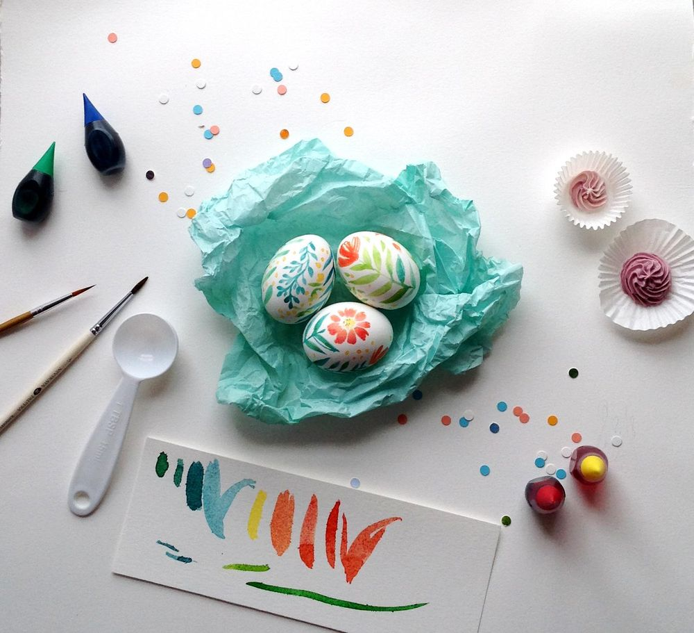 Easter Eggs {Sample project} - image 1 - student project