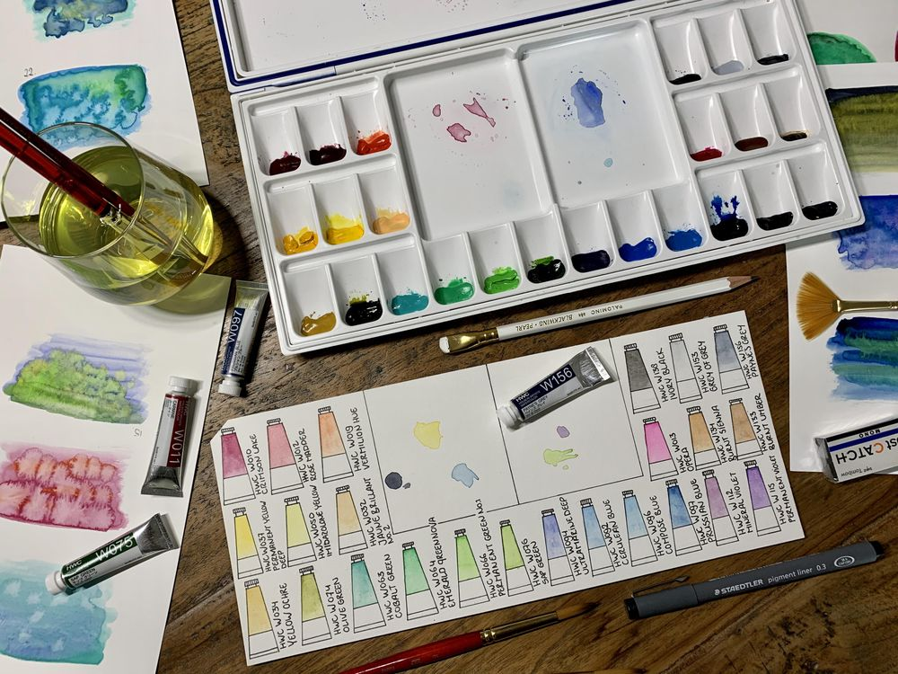 Watercolor Palette - image 3 - student project